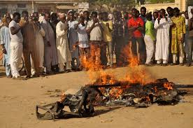 Female suicide bomber attacks Nigerian bus station