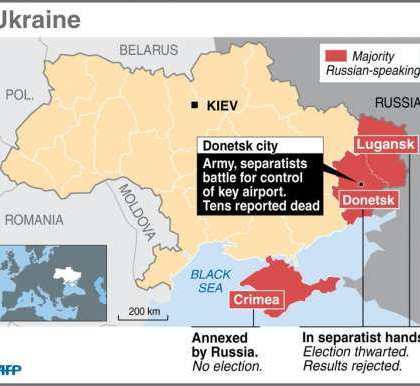 Battles in East Ukraine turn sharp