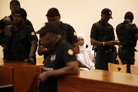 Trial of former Chadian President Hissène