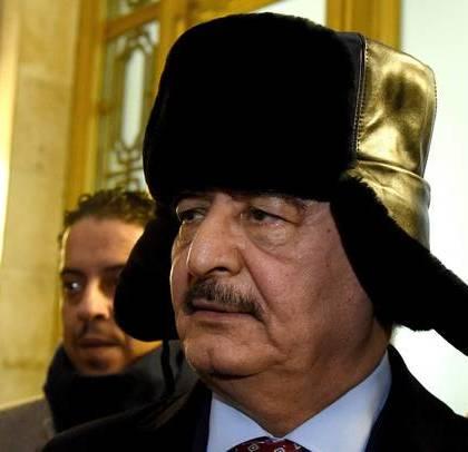 General Khalifa Haftar in Moscow