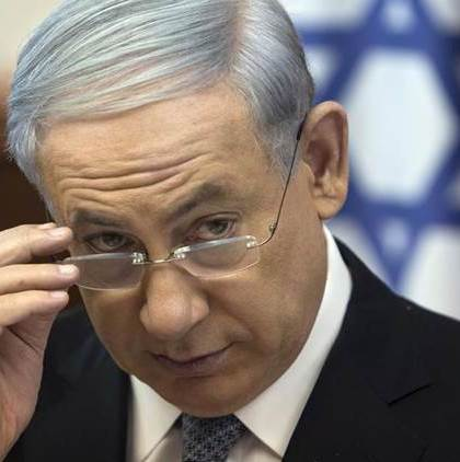 Israel's Prime Minister Netanyahu attends cabinet meeting in Jerusalem